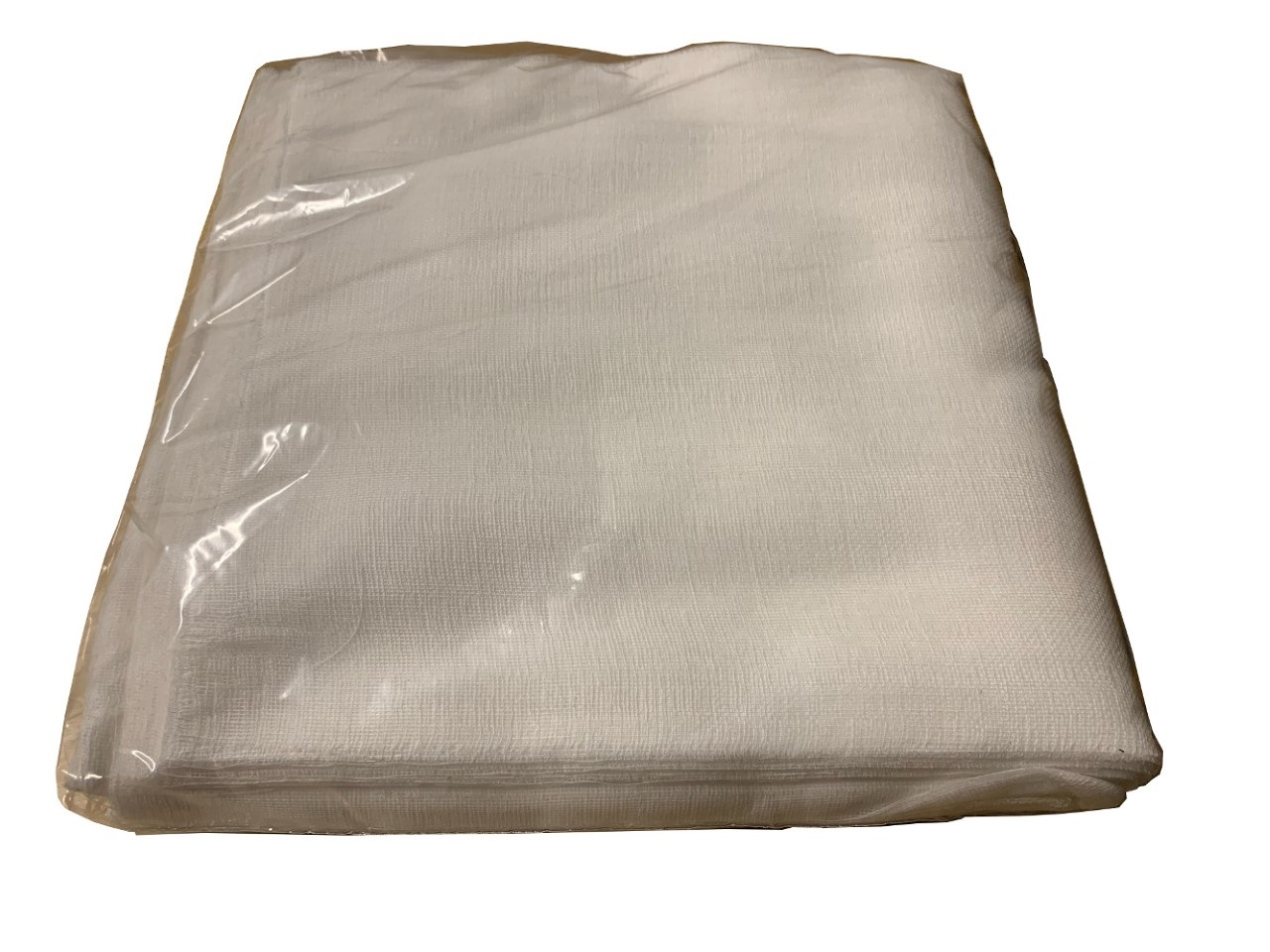 "10"" x 20"" Grade 50 Bagged Cheesecloth (White) 100 Pack"
