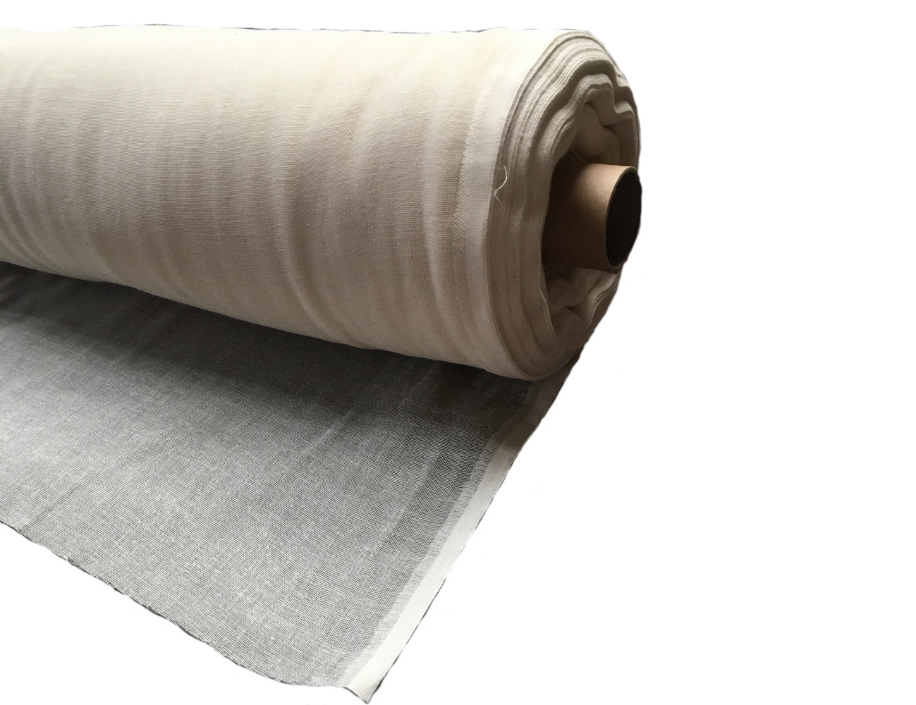 "60"" Wide Grade 60 Unbleached Cheesecloth - 100 Yard Roll"