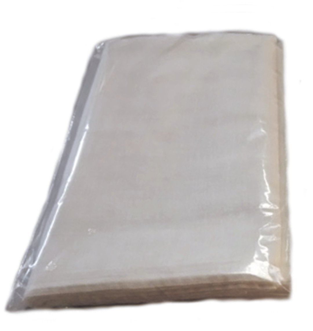 Grade 90 Natural Cheesecloth 9 Square Ft Individually Bagged