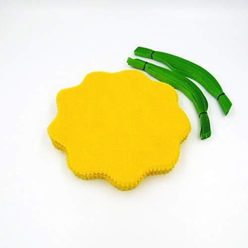 Lemon Wraps With Green Ribbon - 12 Pack