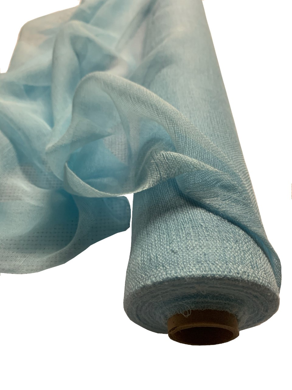 "36"" Wide Light Blue Cheesecloth 100 Foot Roll"