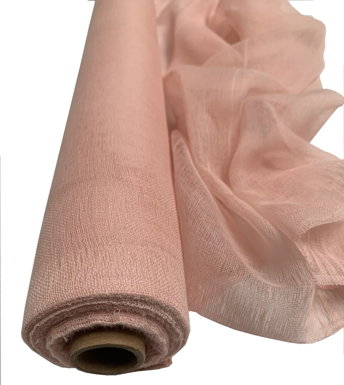 "36"" Wide Rose Gold Cheesecloth 100 Foot Roll"